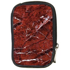 Texture Stone Red Compact Camera Cases