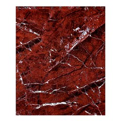 Texture Stone Red Shower Curtain 60  X 72  (medium)