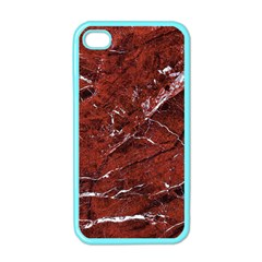 Texture Stone Red Apple iPhone 4 Case (Color)