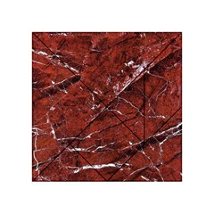 Texture Stone Red Acrylic Tangram Puzzle (4  x 4 )
