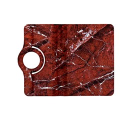 Texture Stone Red Kindle Fire HD (2013) Flip 360 Case