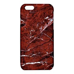Texture Stone Red iPhone 6/6S TPU Case