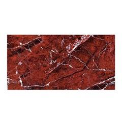 Texture Stone Red Satin Wrap