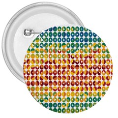 Weather Blue Orange Green Yellow Circle Triangle 3  Buttons