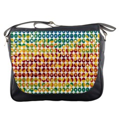 Weather Blue Orange Green Yellow Circle Triangle Messenger Bags