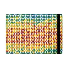 Weather Blue Orange Green Yellow Circle Triangle Apple iPad Mini Flip Case