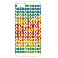 Weather Blue Orange Green Yellow Circle Triangle Apple iPhone 5 Hardshell Case with Stand