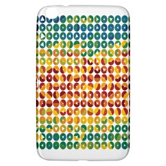 Weather Blue Orange Green Yellow Circle Triangle Samsung Galaxy Tab 3 (8 ) T3100 Hardshell Case