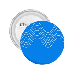 Waves Blue Sea Water 2.25  Buttons