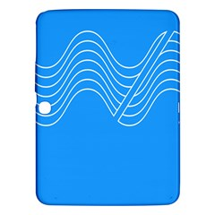 Waves Blue Sea Water Samsung Galaxy Tab 3 (10.1 ) P5200 Hardshell Case