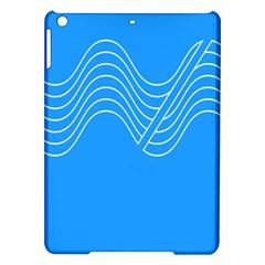 Waves Blue Sea Water iPad Air Hardshell Cases