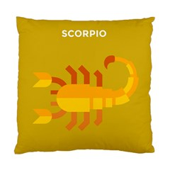 Animals Scorpio Zodiac Orange Yellow Standard Cushion Case (One Side)