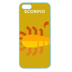 Animals Scorpio Zodiac Orange Yellow Apple Seamless iPhone 5 Case (Color)