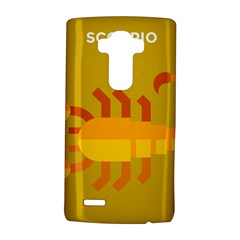Animals Scorpio Zodiac Orange Yellow LG G4 Hardshell Case
