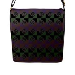 Deco Flap Messenger Bag (L)