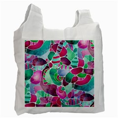 Frosted Sea Glass Recycle Bag (Two Side)