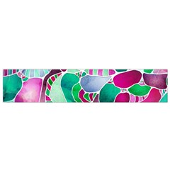 Frosted Sea Glass Flano Scarf (Small)