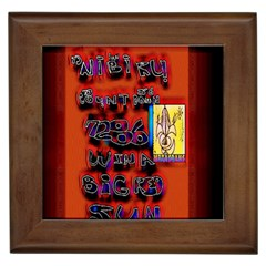 BIG RED SUN WALIN 72 Framed Tiles
