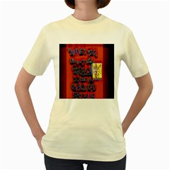 BIG RED SUN WALIN 72 Women s Yellow T-Shirt