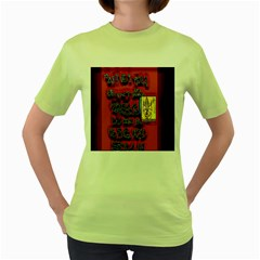 BIG RED SUN WALIN 72 Women s Green T-Shirt