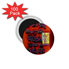 BIG RED SUN WALIN 72 1.75  Magnets (100 pack)