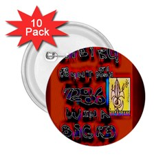 BIG RED SUN WALIN 72 2.25  Buttons (10 pack)