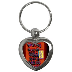 BIG RED SUN WALIN 72 Key Chains (Heart)