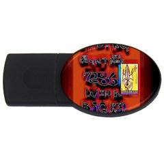 BIG RED SUN WALIN 72 USB Flash Drive Oval (1 GB)