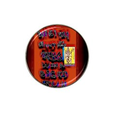 BIG RED SUN WALIN 72 Hat Clip Ball Marker (4 pack)