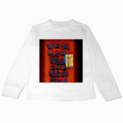 BIG RED SUN WALIN 72 Kids Long Sleeve T-Shirts