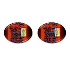BIG RED SUN WALIN 72 Cufflinks (Oval)