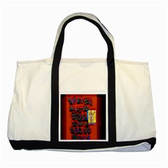 BIG RED SUN WALIN 72 Two Tone Tote Bag