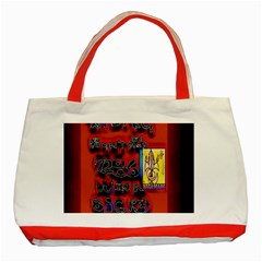 BIG RED SUN WALIN 72 Classic Tote Bag (Red)