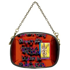 BIG RED SUN WALIN 72 Chain Purses (Two Sides)