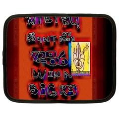 BIG RED SUN WALIN 72 Netbook Case (XL)