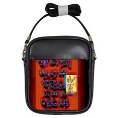 BIG RED SUN WALIN 72 Girls Sling Bags