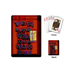 BIG RED SUN WALIN 72 Playing Cards (Mini)