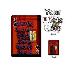 BIG RED SUN WALIN 72 Playing Cards 54 (Mini)