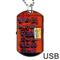 BIG RED SUN WALIN 72 Dog Tag USB Flash (Two Sides)