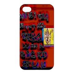 BIG RED SUN WALIN 72 Apple iPhone 4/4S Premium Hardshell Case