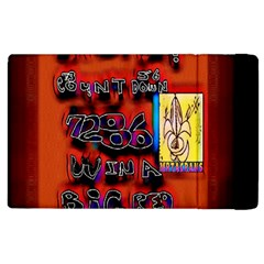 BIG RED SUN WALIN 72 Apple iPad 2 Flip Case