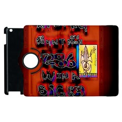 BIG RED SUN WALIN 72 Apple iPad 2 Flip 360 Case