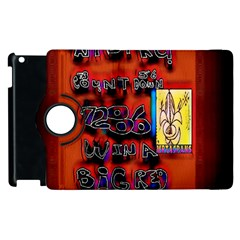 BIG RED SUN WALIN 72 Apple iPad 3/4 Flip 360 Case