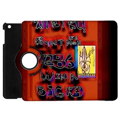 BIG RED SUN WALIN 72 Apple iPad Mini Flip 360 Case