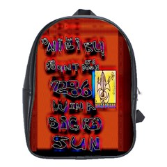 BIG RED SUN WALIN 72 School Bags (XL)