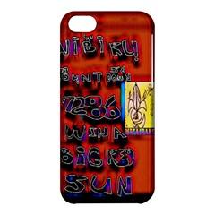 BIG RED SUN WALIN 72 Apple iPhone 5C Hardshell Case