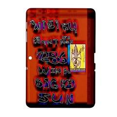 BIG RED SUN WALIN 72 Samsung Galaxy Tab 2 (10.1 ) P5100 Hardshell Case