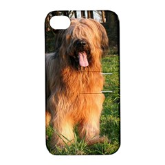 Full Briard Apple iPhone 4/4S Hardshell Case with Stand
