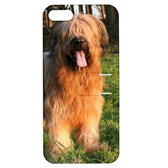 Full Briard Apple iPhone 5 Hardshell Case with Stand