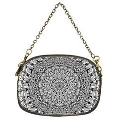 Mandala Boho Inspired Hippy Hippie Design Chain Purses (One Side)